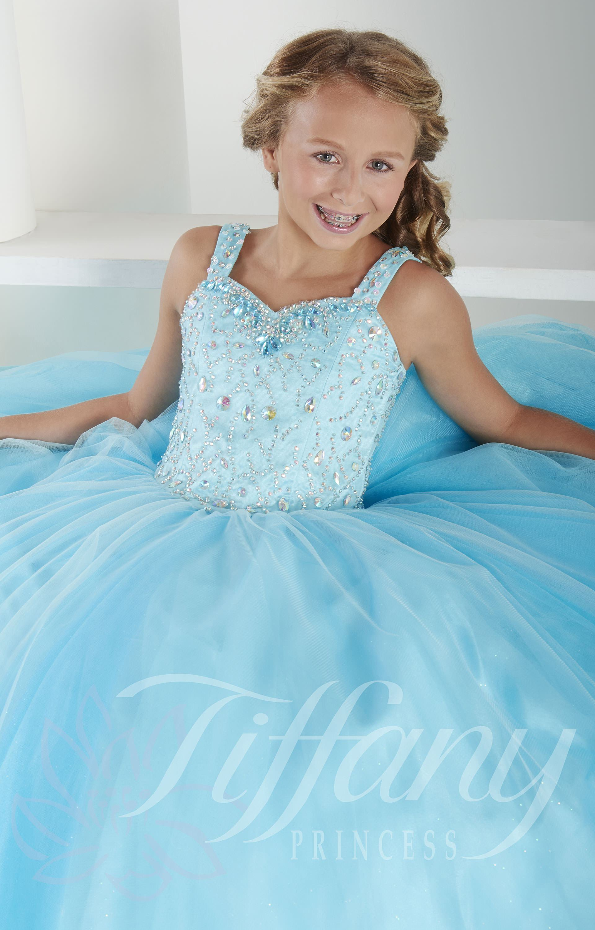Tiffany Princess 13409  Ice Princess Dress Prom Dress