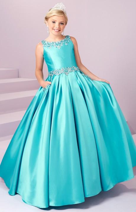 Tiffany Princess 13485 Silk Ballgown Dress Prom Dress