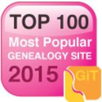 top 100 genealogy website 2015