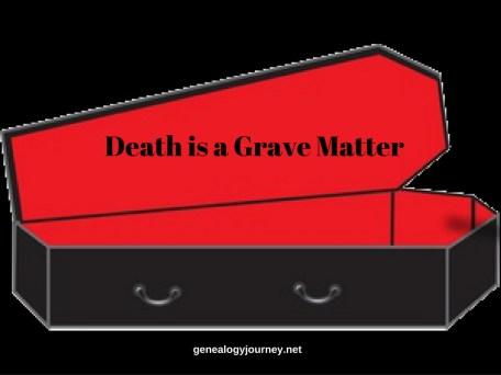 Death grave matter