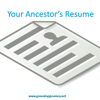 Your Ancestor's Resume