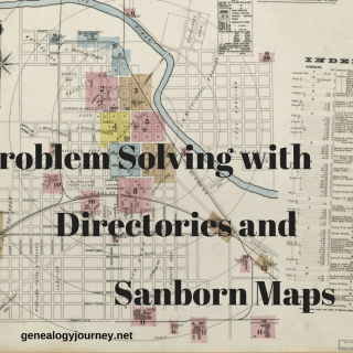 Problem Solving With Directories and Sanborn Maps