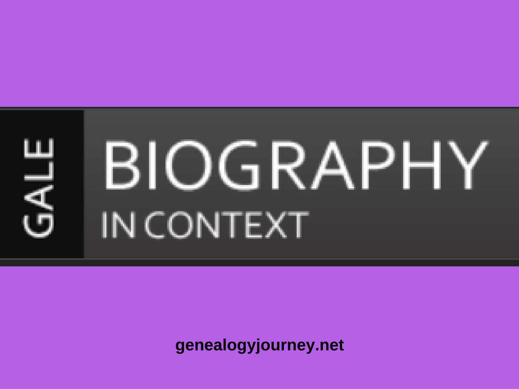 Biography-In-Context