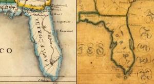 Florida maps 1821