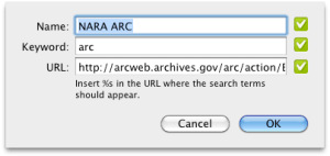 NARA ARC Search