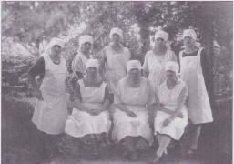 Küchenpersonal des Kurhauses 1926