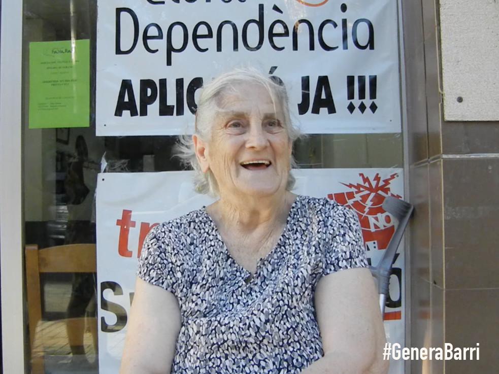 CARMEN. Microentrevista en la calle Montesa
