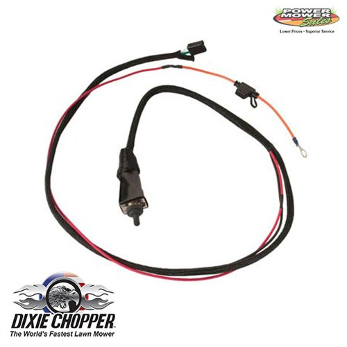 Dixie Chopper Deck Lift Wiring Harness, 500040