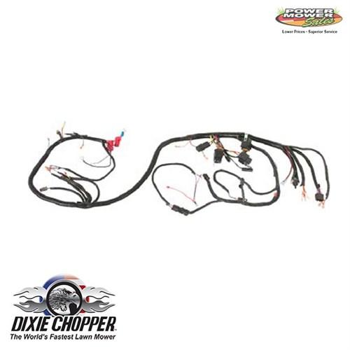 Dixie Chopper Cat Diesel Wiring Harness, 500078