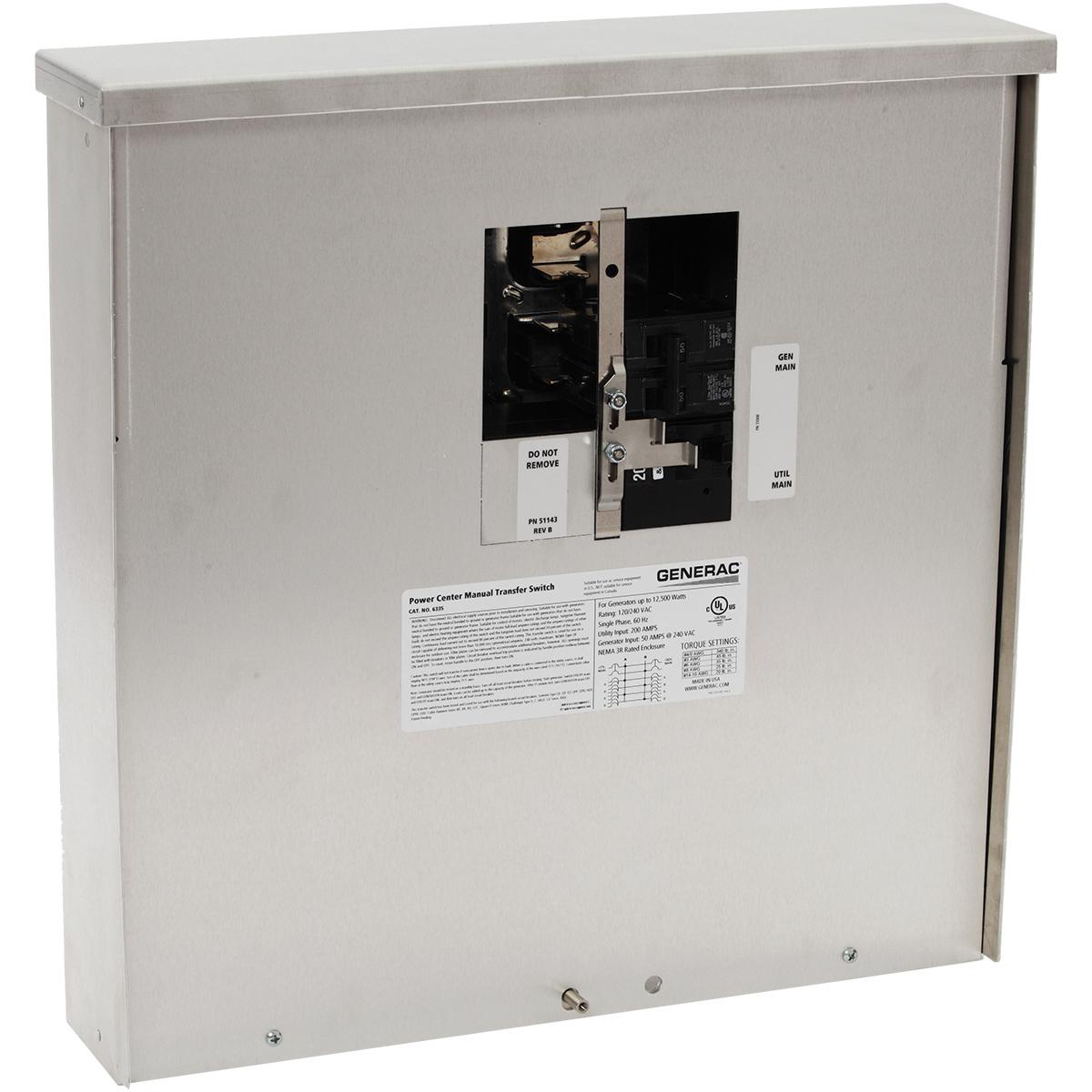 medium resolution of generac power systems manual transfer switch kits for portable rh generac com