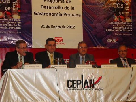 CEPLAN: Gastronomía es clave para el desarrollo económico