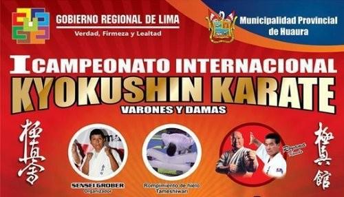 Deportistas Sudamericanos participarán en el primer Campeonato Internacional Kyokushin Karate