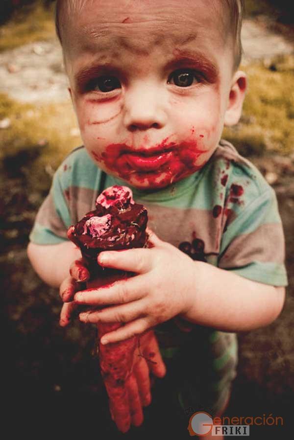 22) Niño-zombie