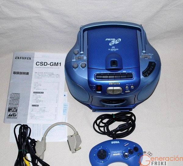 Mega-drive-sega-Aiwa-CSD-G1M-
