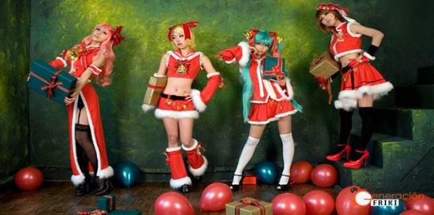Cosplay-Navideño-Vocaloid-grupo-PORTADA