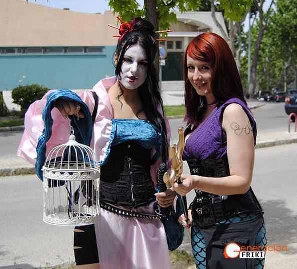 7-Expomanga-2015-Mulan-Ariel-(Disney)