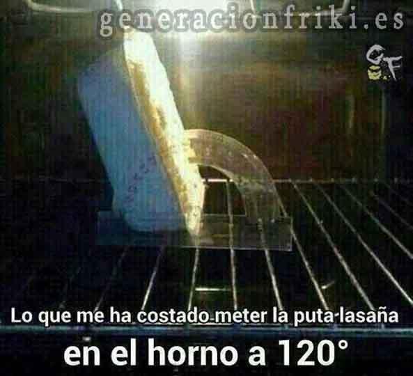 551) 25-07-14 lasagna-horno-120º-Humor