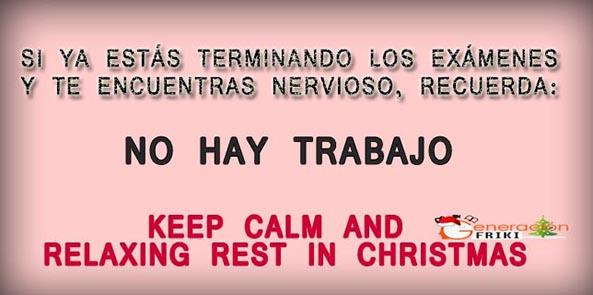 792) 18-12-14 No-hay-trabajo-relaxing-christmas-Humor
