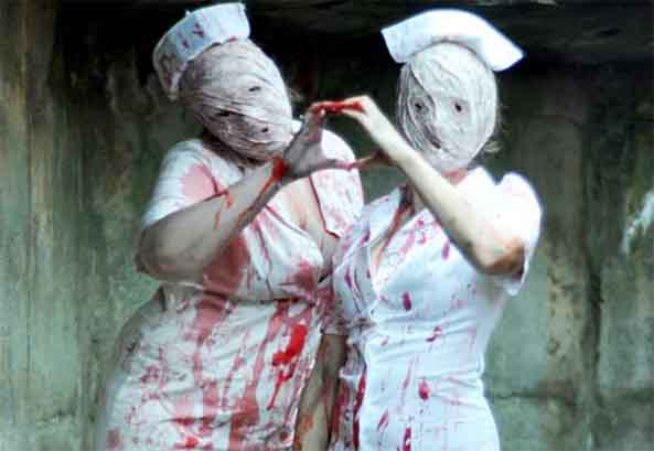 silent hill nurses cosplay