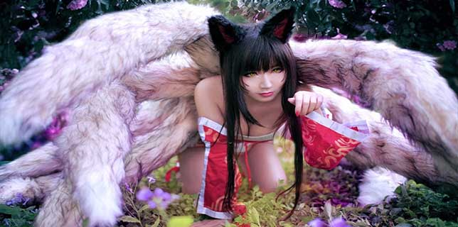 El Cosplay De La Semana Disfraz De Ahri De League Of Legends