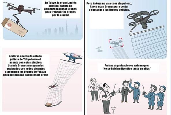 1304-10-06-16-drones-policia-yakuza-humor