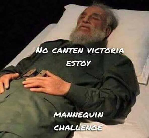 1440) 06-12-16 Fidel-Castro-Manneguin-Challenge-Humor