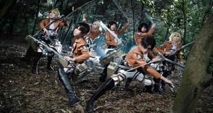EL COSPLAY DE LA SEMANA: Personajes de Shingeki no Kyojin – Attack on Titan