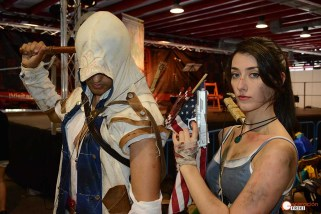 Madrid-Otaku-2017-Generacion-Friki-Connor-(Assasins-Creed)-Lara-Croft-(Tomb-Raider)-1-b