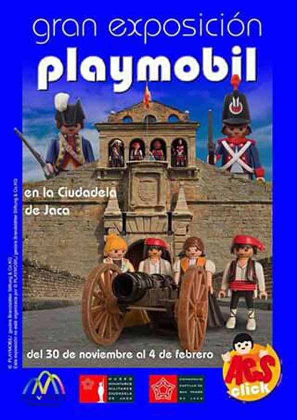 Playmobil Gran Exposición (Jaca) @ Castillo de San Pedro