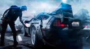 Guiño favorito 2: DeLorean (Regreso al futuro)
