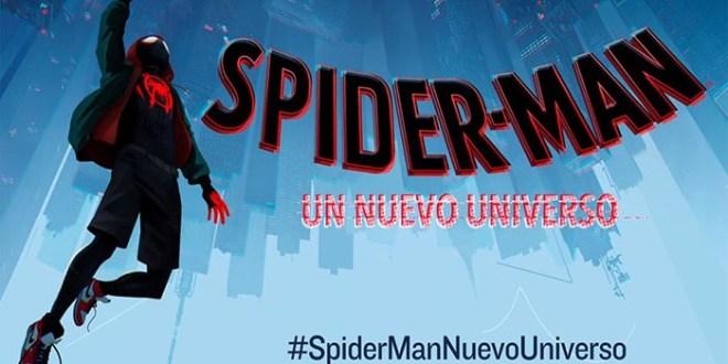 SPIDER-MAN UN NUEVO UNIVERSO: y a la sexta va la vencida