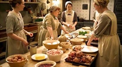 Las cocinas, otro escenario recurrente.