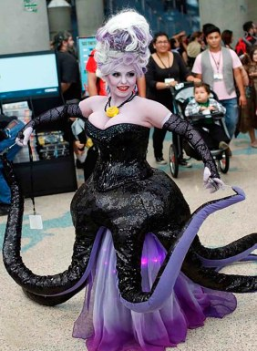 Cosplay-Ursula-La-Sirenita-Disney-18