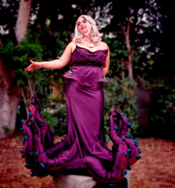 Cosplay-Ursula-La-Sirenita-Disney-5