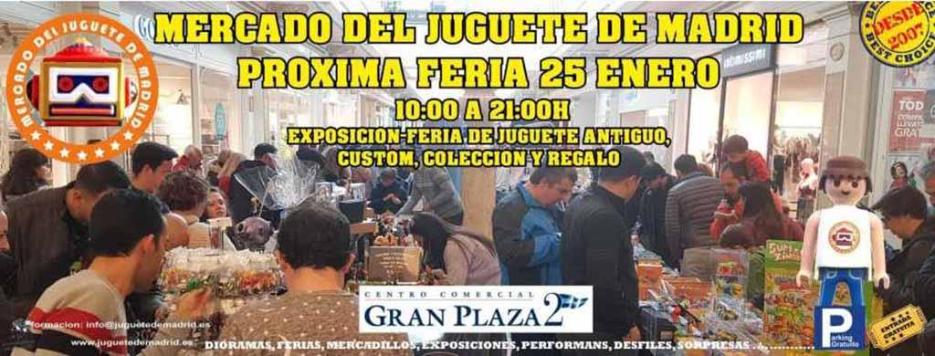 Feria del Juguete (Madrid) @ Centro Comercial Gran Plaza 2