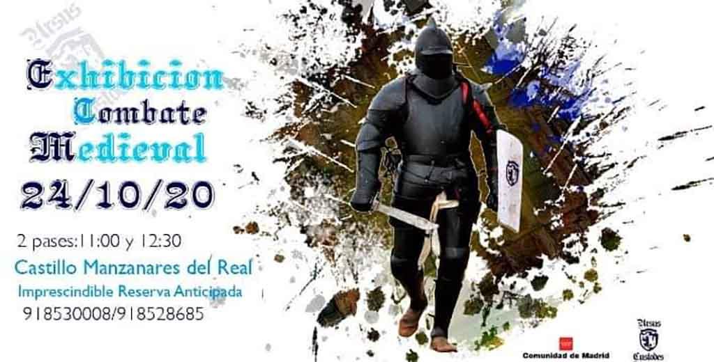 Exhibición Combate Medieval (Madrid)