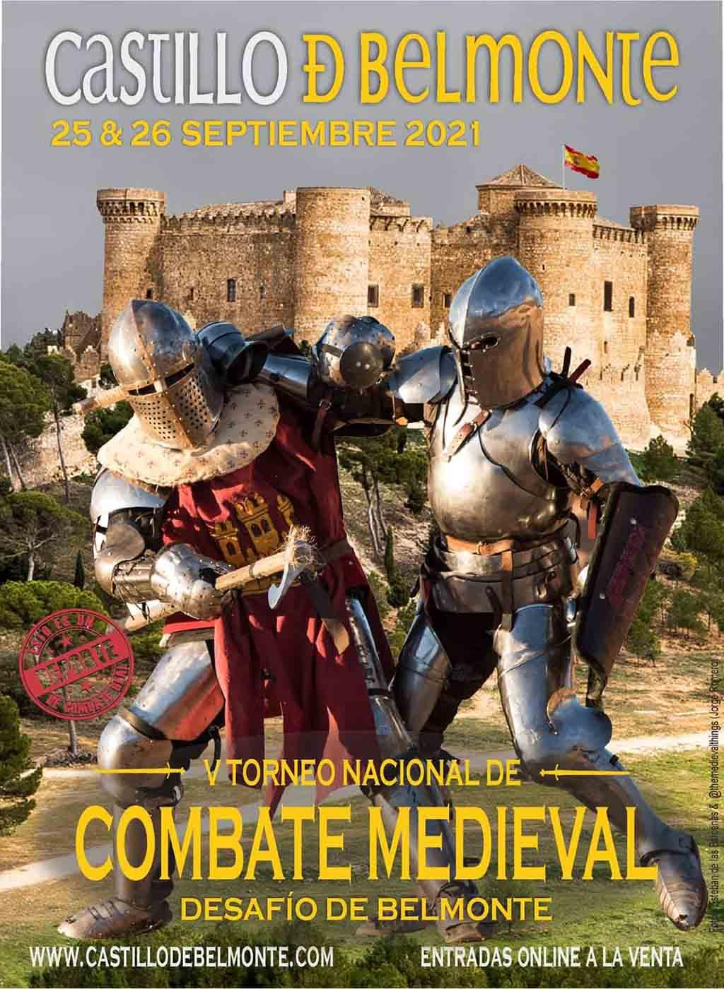 V Torneo Nacional de Combate Medieval (Cuenca) @ Castillo de Belmonte