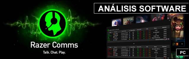 Cabeceras Analisis Software Razer Comms