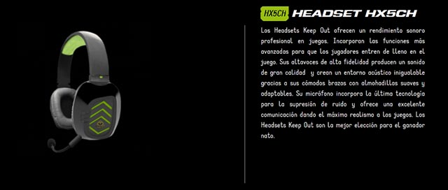 Keep out hx5ch
