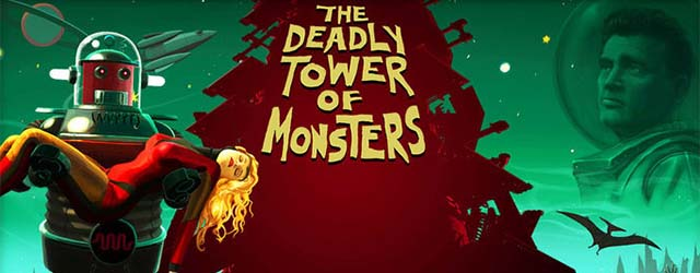 The Deadly Tower of Monsters cab