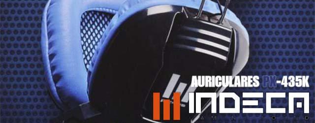 Auriculares indeca 435k