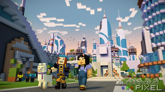 analisis Minecraft Story Temporada 2 img 003