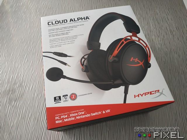 Análisis Auriculares HyperX Cloud Alpha img 001