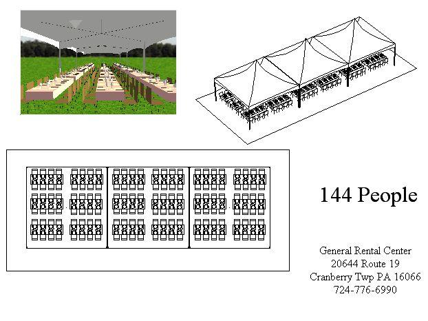 20 x 60 Frame Tents for Rent  General Rental