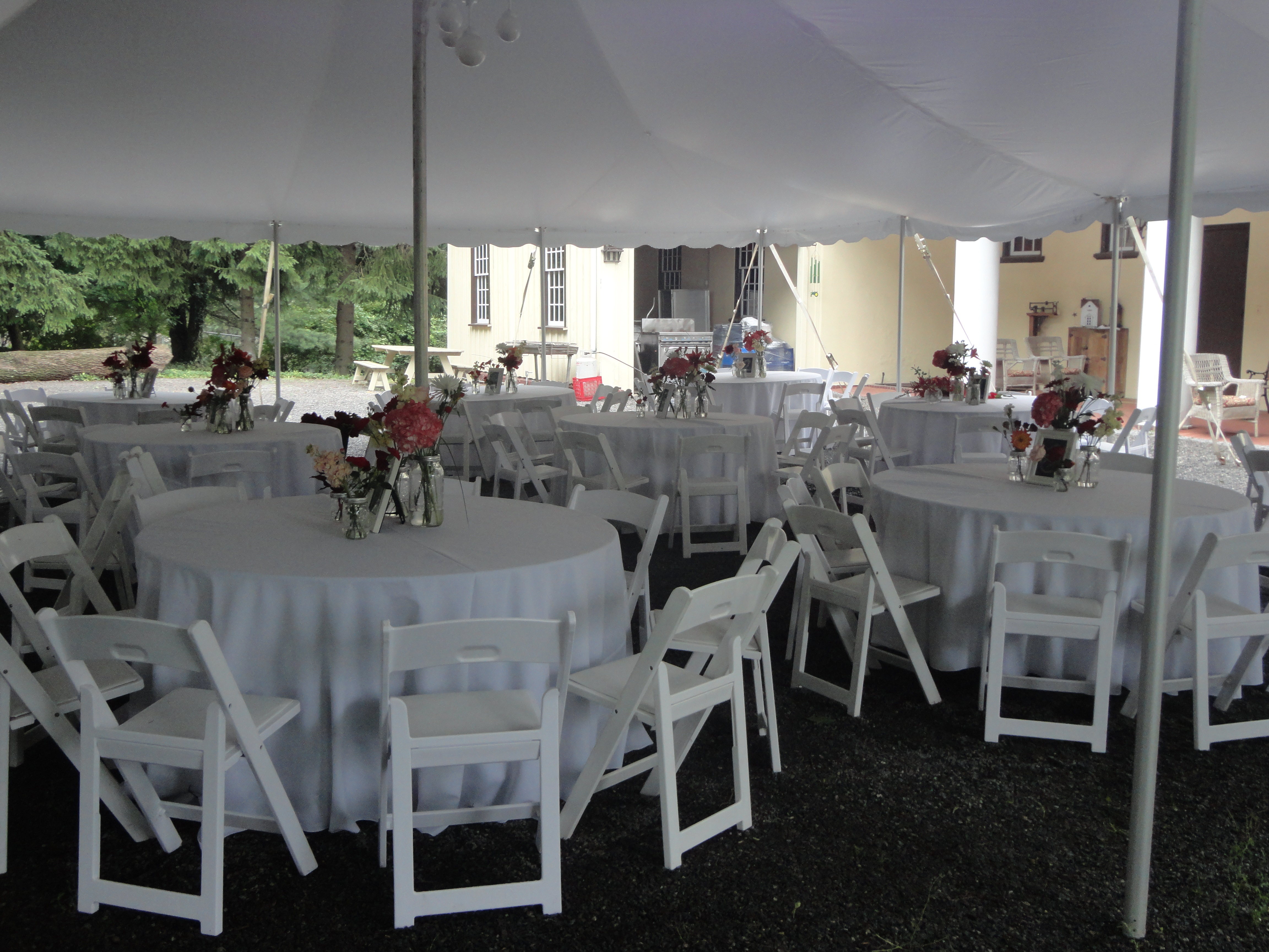 White Resin Chairs for Rent  General Rental Center