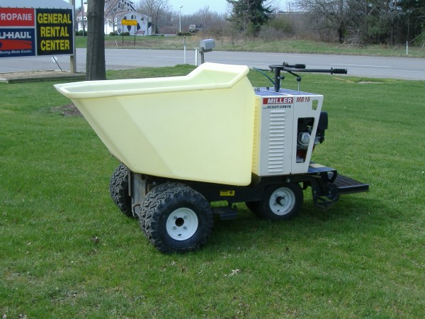 Concrete Buggy Rental - Year of Clean Water
