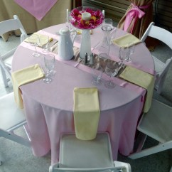 Places To Rent Tables And Chairs Pink Office 48 Quot Round For General Rental Center