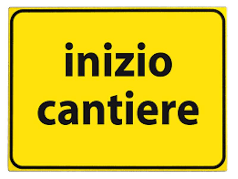 Vendita e Noleggio CARTELLO INIZIO CANTIERE  General Car