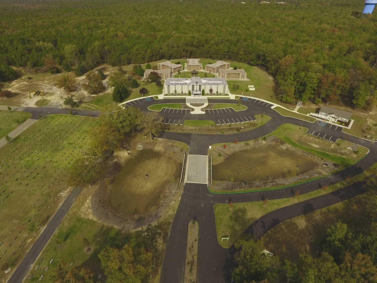 Diocese of Camden- Holy Cross Cemetery – New Maintenance Building, Bridge and Site Work
