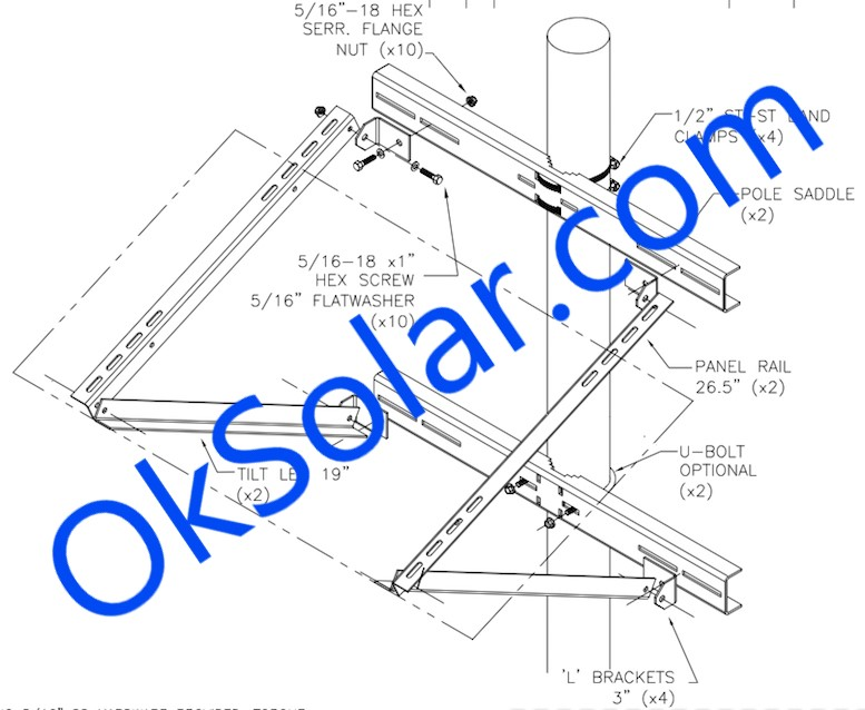 IQUPS.com Remote Solar Power 50 Watts 12 VDC
